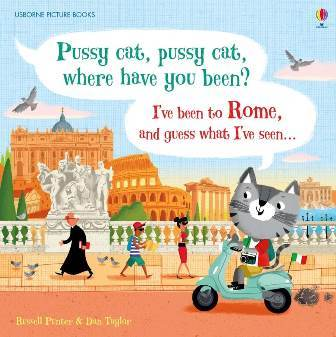 "Купить книгу ""Pussy Cat, Pussy Cat, Where Have You Been? I've Been to Rome and Guess What I've Seen...."""