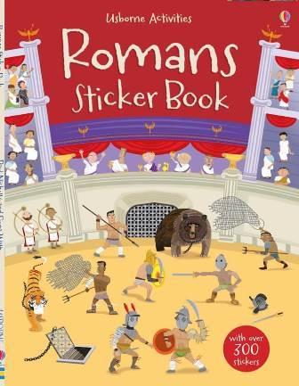 Romans Sticker Book - купить и читать книгу