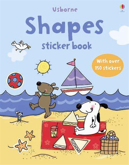 "Купить книгу ""Shapes Sticker Book"""