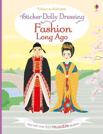 Sticker Dolly Dressing: Fashion Long Ago - купить и читать книгу
