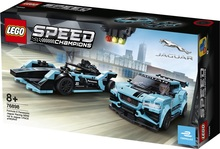 Конструктор LEGO Formula E Panasonic Jaguar Racing GEN2 car & Jaguar I-PACE eTROPHY (76898)