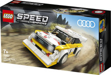 Конструктор LEGO 1985 Audi Sport quattro S1 (76897)