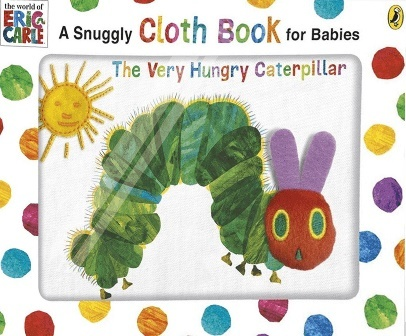 """Купить книгу """"The Very Hungry Caterpillar: A Snuggly Cloth Book for Babies"""""""