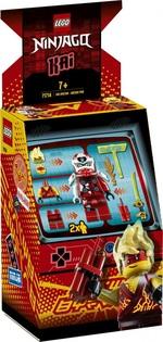 Конструктор LEGO Игровой автомат Кая (71714)