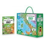 Travel, Learn and Explore: Italy Book and Puzzle