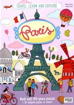 Travel, Learn and Explore: Paris Book and Puzzle