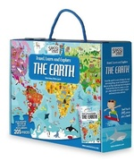 Travel, Learn and Explore: The Earth Book and Puzzle