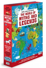 Travel, Learn and Explore: The World of Myths and Legends Book and Puzzle