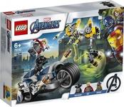 Конструктор LEGO Мстители: Атака на спортбайке (76142)