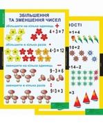 Математика. 1-2 класи. Навчально-методичний посібник та додаток з 17 плакатів