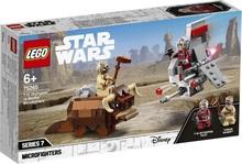 Конструктор LEGO Микрофайтеры: Скайхоппер T-16 против Банты (75265)