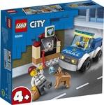 Конструктор LEGO Полицейский отряд с собакой (60241)