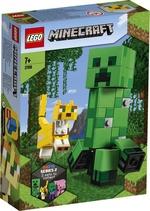 Конструктор LEGO Большие фигурки Minecraft, Крипер и Оцелот (21156)