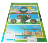 Природознавство. 3-4 класи. Навчально-методичний посібник та додаток з 11 плакатів