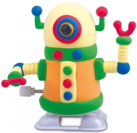"""Купить """"Набір для творчості. Totum. Жовтий робот (025356)"""""""