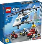 Конструктор LEGO Погоня на полицейском вертолёте (60243)