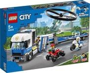 Конструктор LEGO Полицейский вертолётный транспорт (60244)