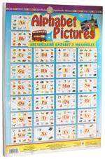 Alphabet Pictures. Англійський алфавіт в малюнках