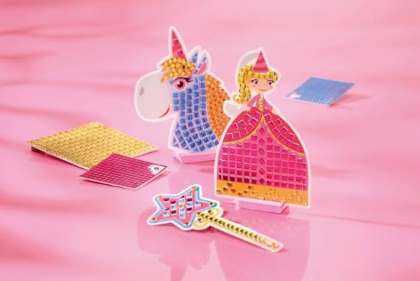 """Купить """"Набір для творчості. Totum. Стікерна мозаїка. Принцеса та єдиноріг (029736)"""""""