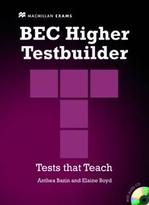 BEC Higher Testbuilder with key and Audio CDs