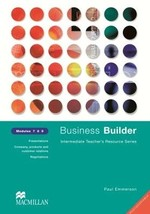 Business Builder Modules 7-9 Teacher's Resource Book