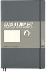 Блокнот Leuchtturm1917 Paperback Антрацит Чистые листы (358328)