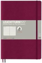 Блокнот Leuchtturm1917 Paperback Винный Линия (359684)
