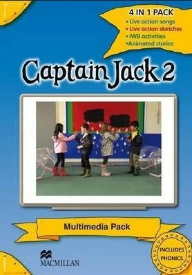 "Купить книгу ""Captain Jack 2 Multimedia Pack"""