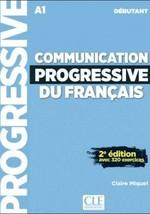 Communication Progressive du Français 2e Édition Débutant Livre avec CD audio (Nouvelle couverture)