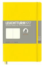 Блокнот Leuchtturm1917 Paperback Лимонный Чистые листы (358304)