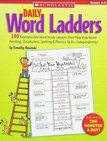 Daily Word Ladders Grades 4–6