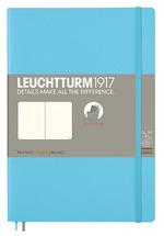 Блокнот Leuchtturm1917 Paperback Льодяний синій Чисті аркуші (358313)