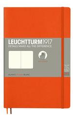 Блокнот Leuchtturm1917 Paperback Помаранчевий Чисті аркуші (358301)