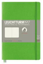 Блокнот Leuchtturm1917 Paperback Свіжий зелений Крапка (358306)
