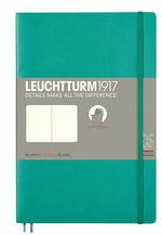Блокнот Leuchtturm1917 Paperback Смарагдовий Чисті аркуші (358310)
