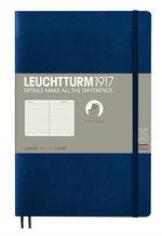 Блокнот Leuchtturm1917 Paperback Темно-синій Лінія (358317)