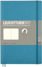 Блокнот Leuchtturm1917 Paperback  Холодний синій Чисті аркуші (358316)