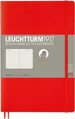 Блокнот Leuchtturm1917 Paperback Червоний Лінія (358296)