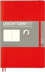 Блокнот Leuchtturm1917 Paperback Червоний Чисті аркуші (358298)