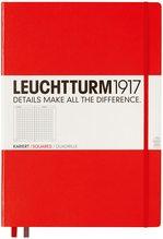 Блокнот Leuchtturm1917 MasterClassic Червоний Клітинка (307358) - купити і читати книгу