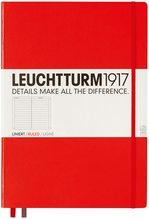 Блокнот Leuchtturm1917 MasterClassic Червоний Лінія (304439) - купити і читати книгу