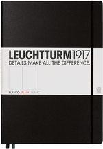 Блокнот Leuchtturm1917 MasterClassic  Чорний Чисті аркуші (308227) - купити і читати книгу