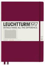 Блокнот Leuchtturm1917 MasterSlim Винний Клітинка (359785) - купити і читати книгу