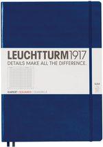Блокнот Leuchtturm1917 MasterSlim Темно-синій Клітинка (342927) - купити і читати книгу