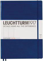 Блокнот Leuchtturm1917 MasterSlim Темно-синій Крапка (342929) - купити і читати книгу