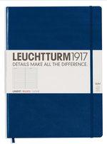 Блокнот Leuchtturm1917 MasterSlim Темно-синій Лінія (342926) - купити і читати книгу