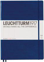 Блокнот Leuchtturm1917 MasterSlim Темно-синій Чисті аркуші (342928) - купити і читати книгу
