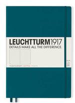 Блокнот Leuchtturm1917 MasterSlim Тихоокеанский зелений Крапки (359790)