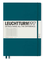 Блокнот Leuchtturm1917 MasterSlim Тихоокеанский зеленый Лінія (359788)