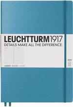 Блокнот Leuchtturm1917 MasterSlim Холодний синій Лінія (354756)